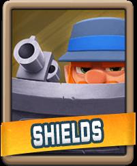 Rush Wars Shields