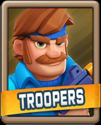 Rush Wars Troopers