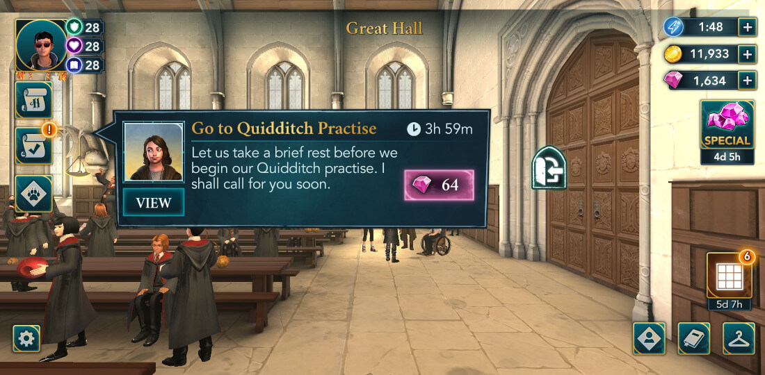 Harry Potter Hogwarts Mystery Quidditch Season 1 Chapter 8
