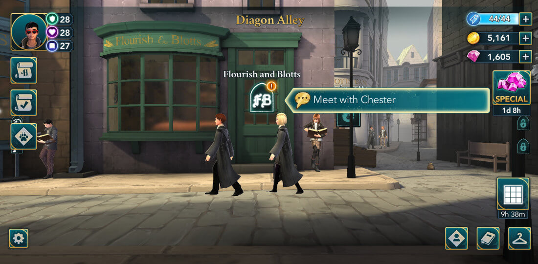 Harry Potter Hogwarts Mystery Walkthrough Year 6 Chapter 10