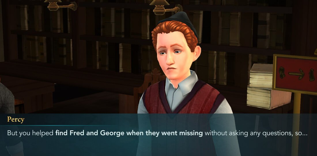 Harry Potter Hogwarts Mystery Walkthrough Year 6 Chapter 9