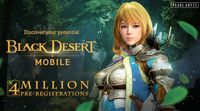 Black Desert Mobile 4 Million Pre-registrations