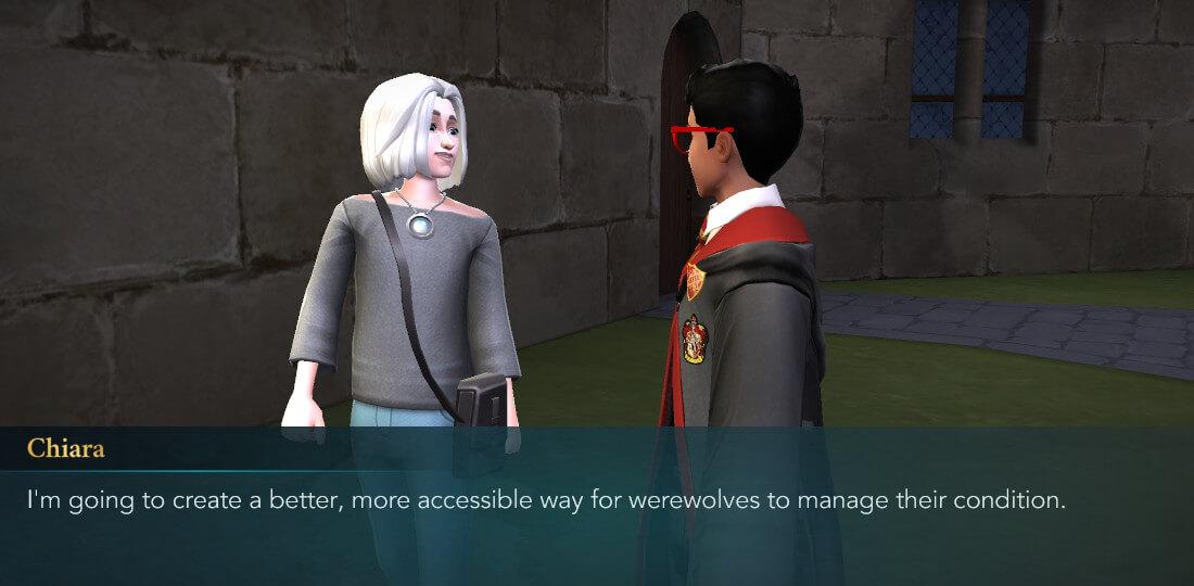 Harry Potter Hogwarts Mystery Walkthrough Lone Wolf Part 3