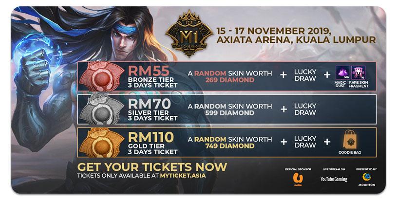 Mobile Legends Bang Bang World Championship Tickets