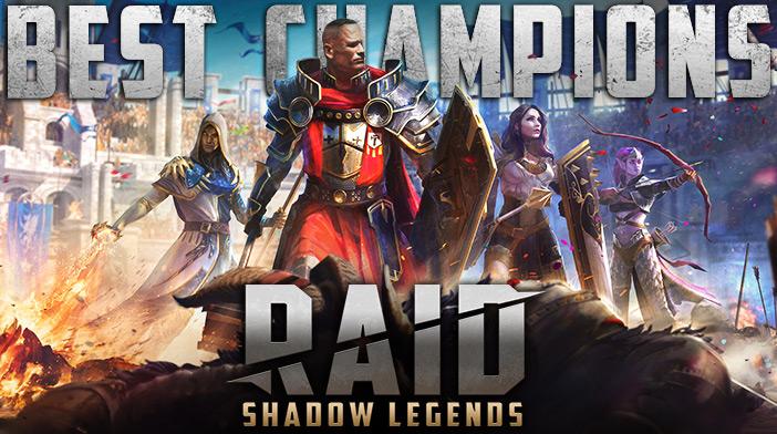 RAID Shadow Legends Best Champions