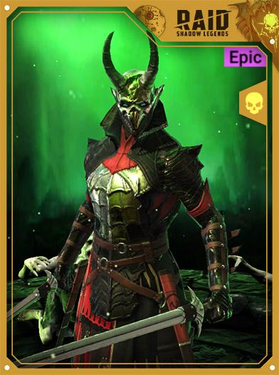 Raid Shadow Legends Best Champions - Defiled Sinner