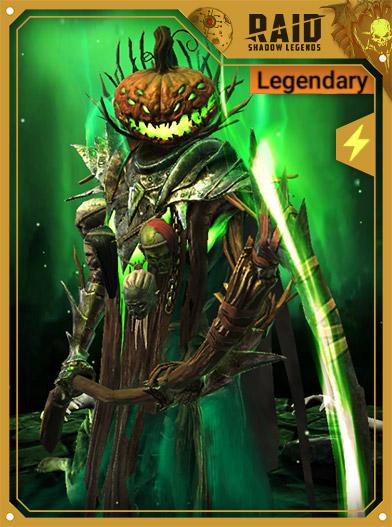 Raid Shadow Legends Best Champions - Harvest Jack