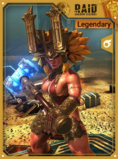 Raid Shadow Legends Best Champions - Trunda Giltmallet