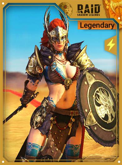 Raid Shadow Legends Best Champions - Valkyrie