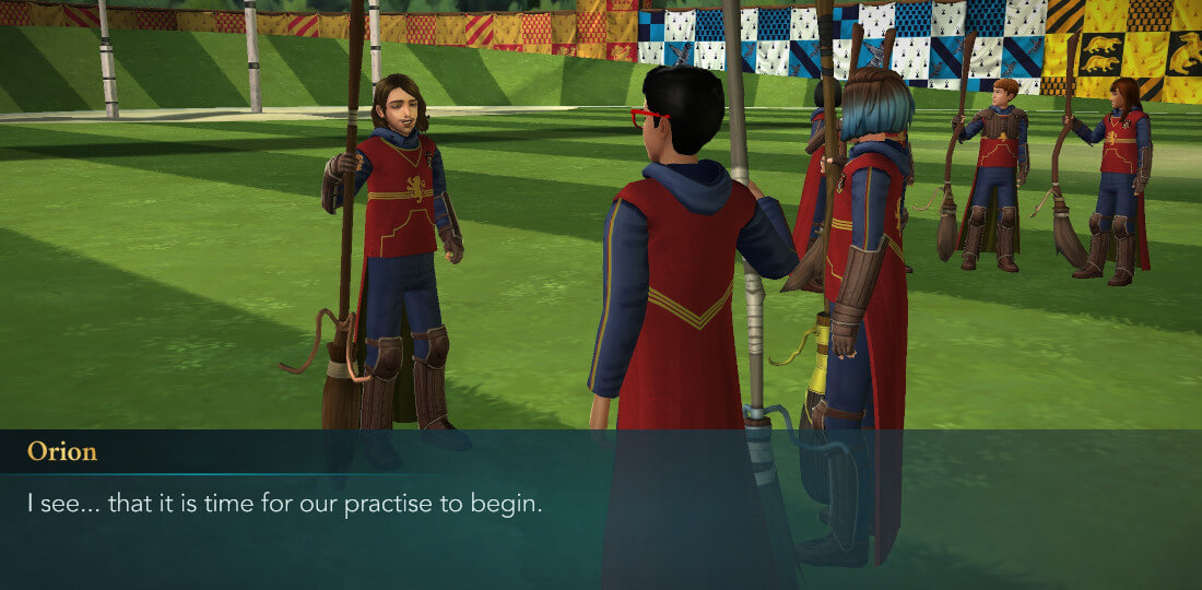 Harry Potter Hogwarts Mystery Quidditch Searching for a Comet Part 1