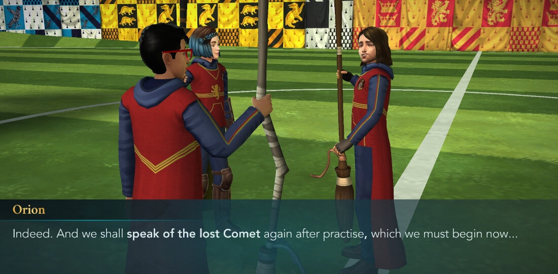 Harry Potter Hogwarts Mystery Quidditch Searching for a Comet Part 2