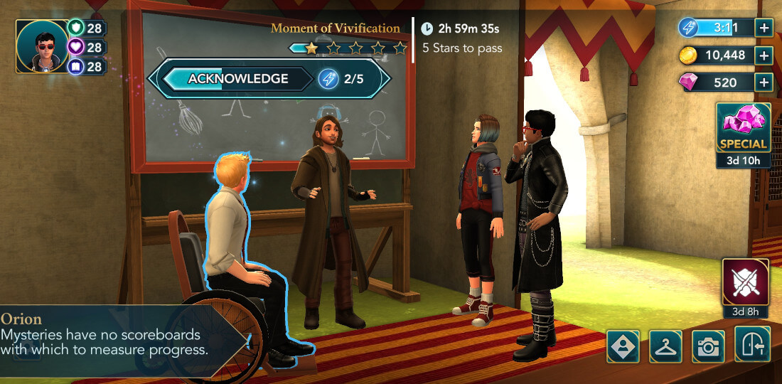 Harry Potter Hogwarts Mystery Quidditch Searching for a Comet Part 3