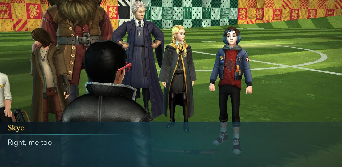 Harry Potter Hogwarts Mystery Quidditch Searching for a Comet Part 4