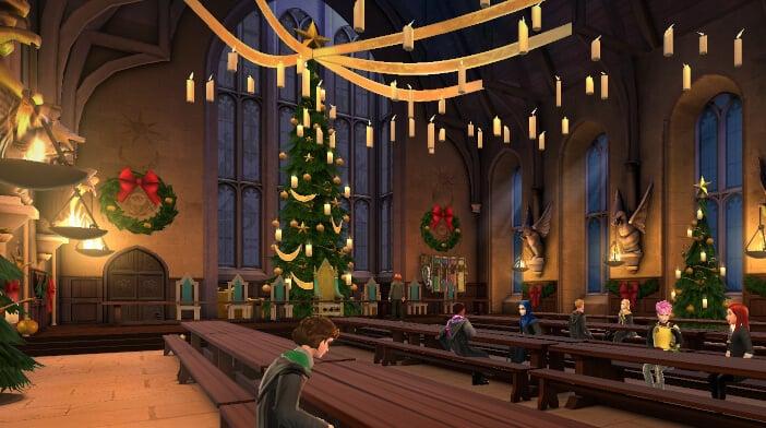 Harry Potter Hogwarts Mystery Walkthrough A Very Weasley Christmas Part 1