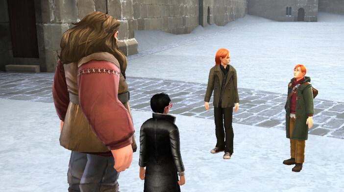 Harry Potter Hogwarts Mystery Walkthrough A Very Weasley Christmas Part 3