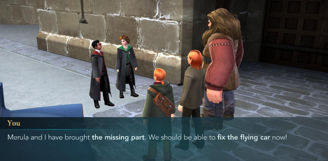Harry Potter Hogwarts Mystery Walkthrough A Very Weasley Christmas Part 4
