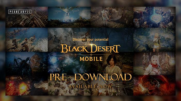 Black Desert Mobile Pre-Download Phase