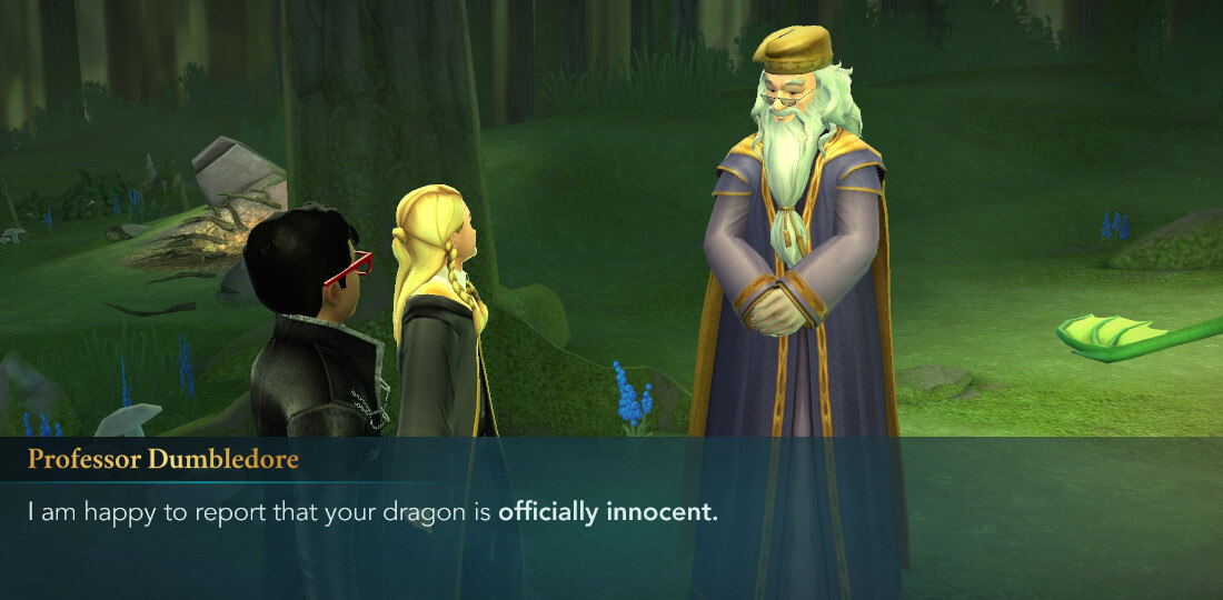 Here There Be Dragons Side Quest Harry Potter Hogwarts Mystery Walkthrough