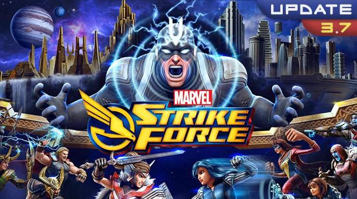 Marvel Strike Force 3.7 Update