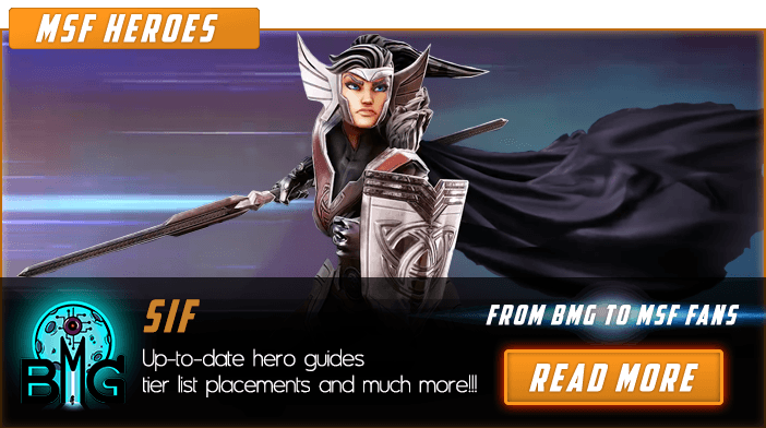 Marvel Strike Force Sif Featured