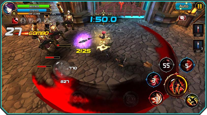 Mobile MMO games