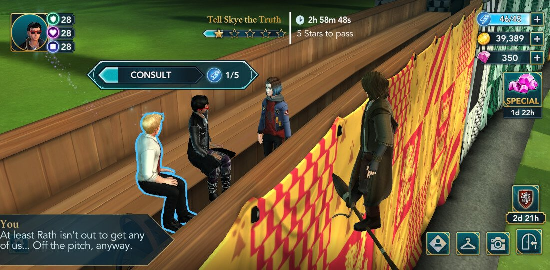 Harry Potter Hogwarts Mystery Quest for the Quidditch Cup Part 2