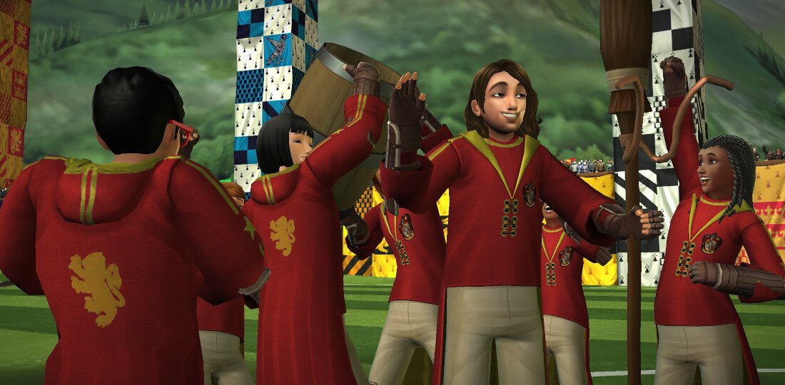Harry Potter Hogwarts Mystery Quest for the Quidditch Cup Part 3