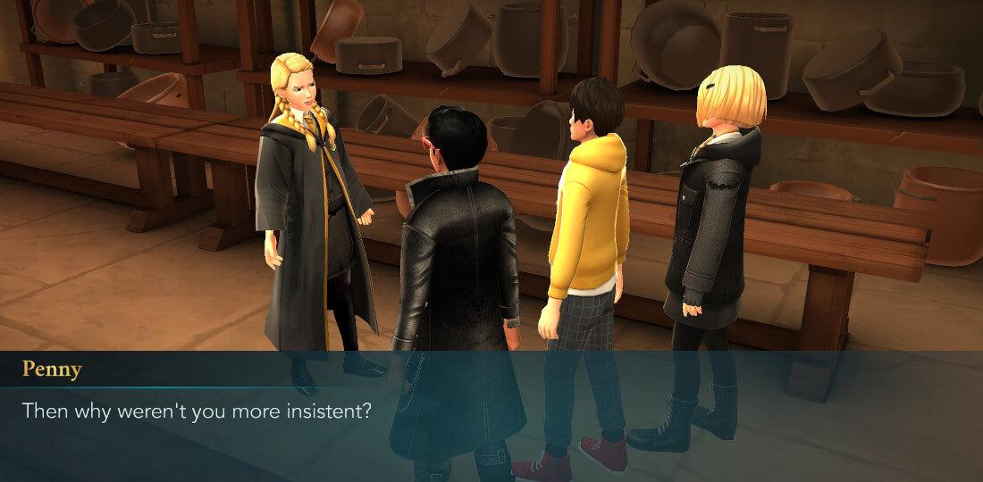 Harry Potter Hogwarts Mystery Walkthrough Year 6 Chapter 16