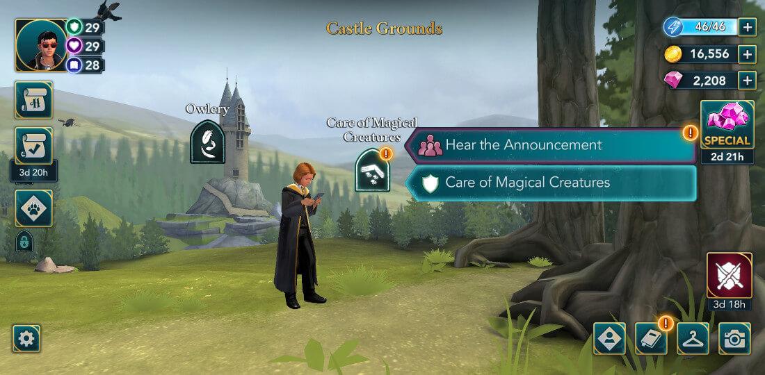 """Harry Potter Poudlard Mystère pas à pas The All-Wizard Tournament Part 1 """"width ="""" 1100 """"height ="""" 540 """"/> <br /> When vous arrivez, vous remarquerez que beaucoup de vos camarades de classe sont là. Si vous le souhaitez, vous pouvez interagir avec certains d'entre eux avant de continuer. <br /> <img src="""