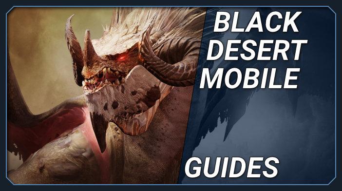 black desert mobile guides, tips, tricks cheats