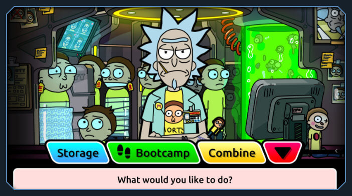 rick and morty pocket mortys