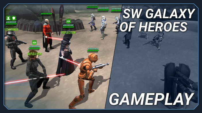 star wars galaxy of heroes review guides tips and cheats