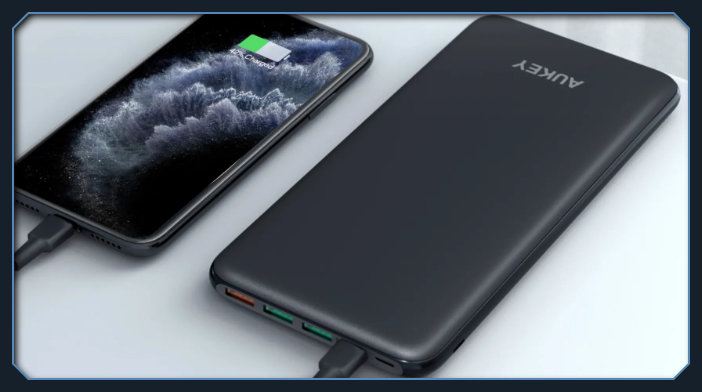 AUKEY PB-Y14 SLIMLINE 20000MAH WIRELESS POWER BANK gaming review, specifications, statistics