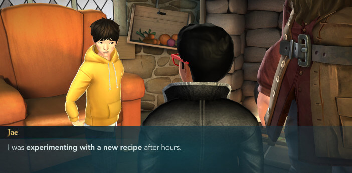 Harry Potter Hogwarts Mystery Walkthrough Year 5 Cooking up Trouble Side Quest