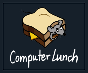 computer lunch company logo