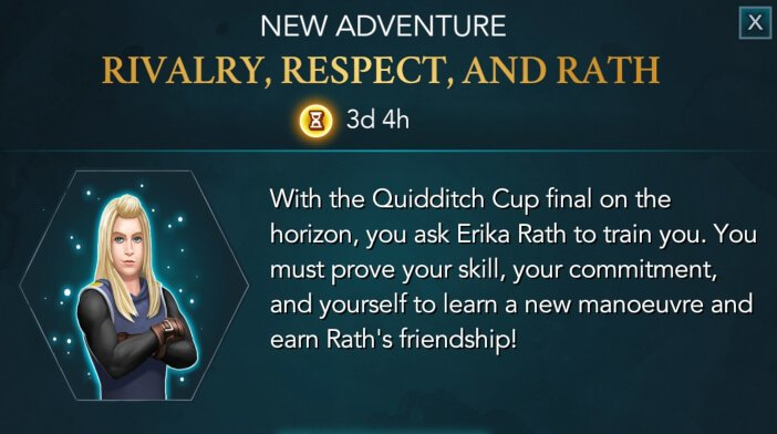 Harry Potter Hogwarts Mystery Quidditch Rivalry Respect and Rath