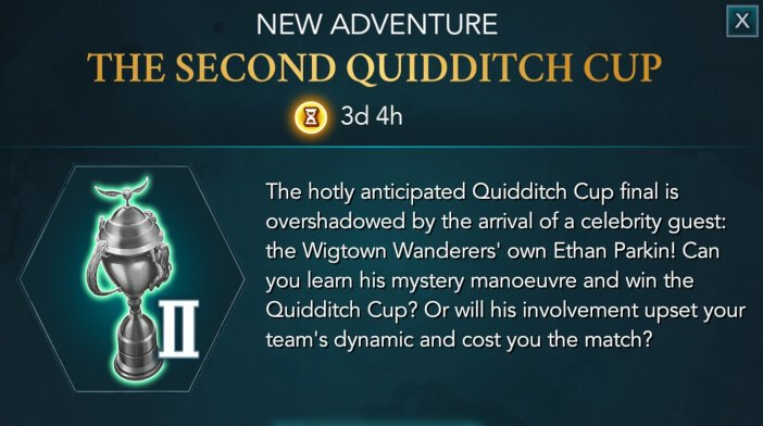 Harry Potter Hogwarts Mystery Quidditch The Second Quidditch Cup