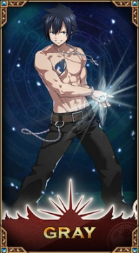 Ice-Make Wizard Gray Fullbuster